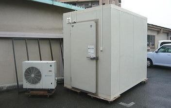 プレハブ冷凍冷蔵庫の買取