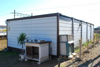 5連棟ユニットハウスの買取事例