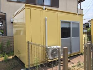 エアコン付きユニットハウスの買取 奈良県奈良市
