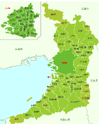 大阪府MAP