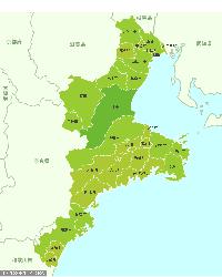 三重県MAP