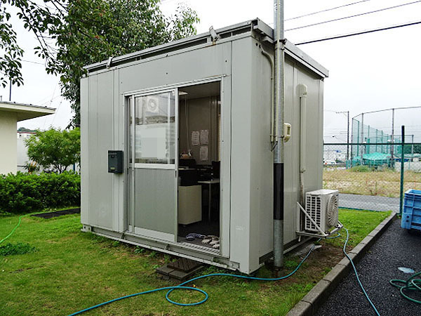 神奈川県厚木市にて買取らせていただいたユニットハウス