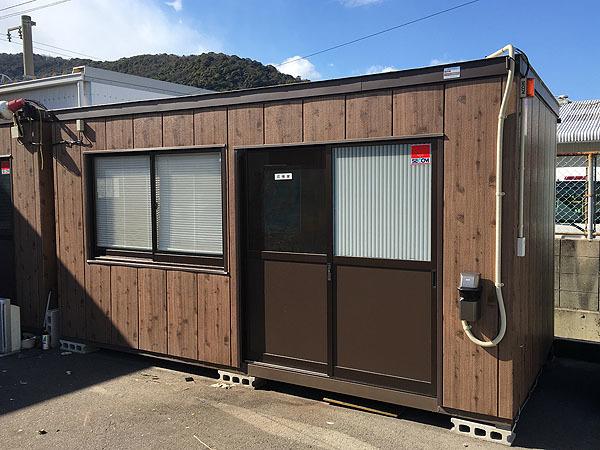 千葉県幕張市でのユニットハウス買取事例