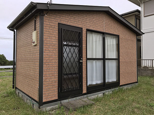 千葉県いすみ市でのユニットハウス買取事例